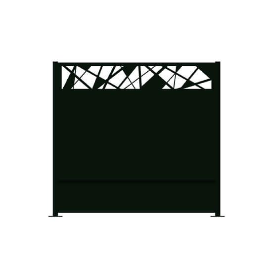 brise vue aluminium hygie decometaldesign. Black Bedroom Furniture Sets. Home Design Ideas
