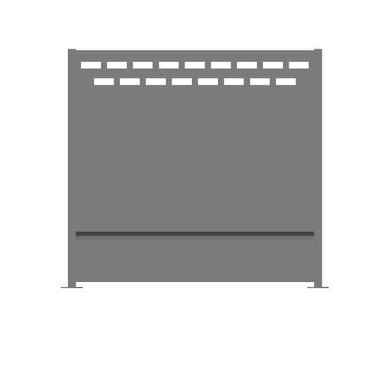 Claustra alu linares decometaldesign for Claustra alu