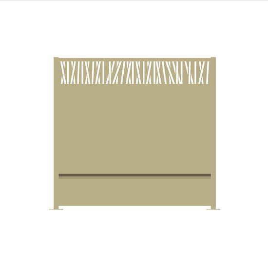 Claustra alu tiguris ral1015 decometaldesign for Claustra alu prix