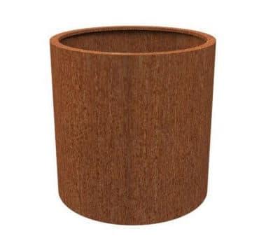 bacs acier corten pots corten. Black Bedroom Furniture Sets. Home Design Ideas