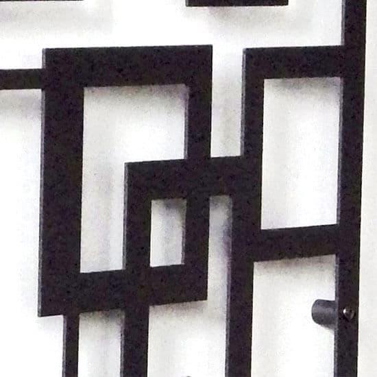 Treillage déco en tôle aluminium Labyrinthe