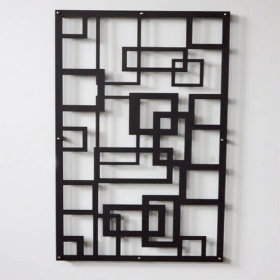 Treillage décoratif alu Labyrinthe